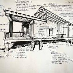 Interesting Find A Career In Architecture Ideas. Admirable Find A Career In Architecture Ideas. Architecture Renovation, Architecture Drawings, Architecture Portfolio, Architecture Details, Landscape Architecture, Architecture Panel, Residential Architecture, Veranda Pergola, Facade