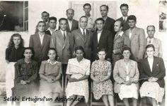 Antalya, Aksu Köy Enstitüsü öğretmenleri. (1940'lı yıllar)
