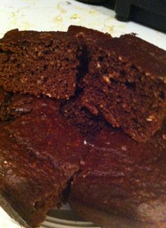 Chocolate Peanut Butter Protein Brownies |