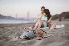 H + M | Baker Beach, San Francisco Engagement