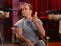 As James T. Kirk in Star Trek: Bread and Circuses