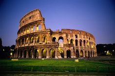 The Colosseum in Rome is one of the seven wonders of the world and Italy's most important monument.