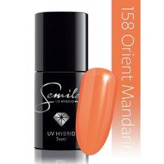 Ημιμόνιμο μανό Semilac - 158 Orient Mandarin 7ml - Semilac | Προϊόντα Μανικιούρ - Πεντικιούρ Semilac & Ημιμόνιμα. Manicure, Nails, Voss Bottle, Flamingo, Nail Polish, My Style, Pink, Beauty, Nail Bar