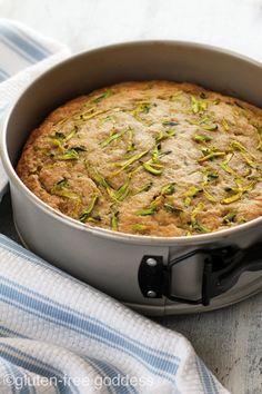 Gluten-Free Zucchini Quinoa Breakfast Cake (dairy-free)