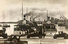 Vestre flytebrygge,Oslo på 1920-tallet?