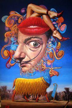 Surrealism by Salvador Dali Paintings | Surreal Thanksgiving, Salvador Dali's paintings for sale on 1paintings ...
