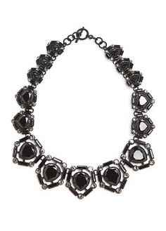 MANGO - NEW - Jumpsuits - All - Faceted crystal choker