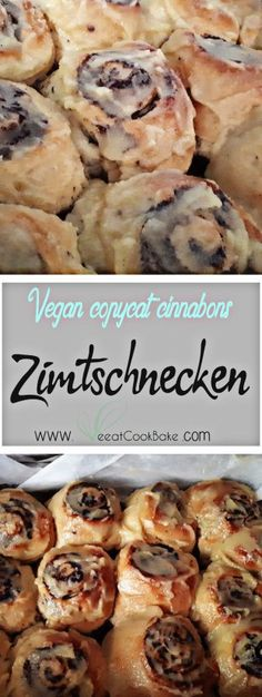 Die besten Zimtschnecken aller Zeiten (copycat der bekannten US Cinnabons) - VeeatCookBake