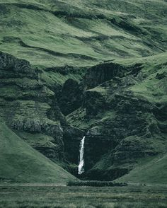 A wall of green, and the otherworldly landscape of Iceland