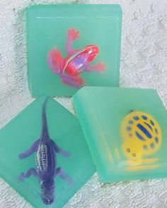 Kids Blue Ocean Toy Soap - makes a fun birthday party favor
