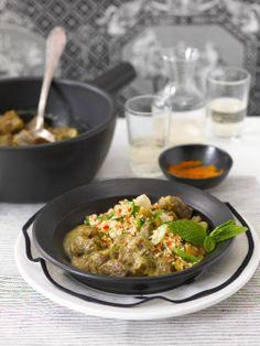 Currygulasch mit Couscous (Heft: August 2013) Foto © Maike Jessen für ARD Buffet Magazin/burdafood.net