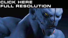 DOTA 2 Monsters Night stalker Visage Bleu Jeux