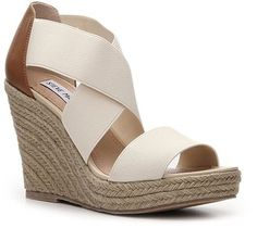 Great Neutral Wedges to work back with all the neons and brights for spring/summer