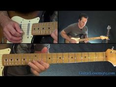 Pink Floyd - Comfortably Numb Guitar Lesson Pt.1 - All Rhythm Guitar Parts - YouTube