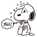 Snoopy's Moods Facebook Stickers by Charles M. Schulz Everyone's favorite beagle shows his many faces