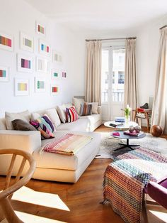 Bright and colorful modern flat | Daily Dream Decor