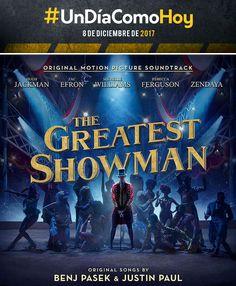 The Greatest Showman - Soundtrack - 8 de diciembre de 2017 The Greatest Showman, Original Song, Zendaya, Soundtrack, Broadway Shows, Comic Books, Songs, The Originals, Pictures