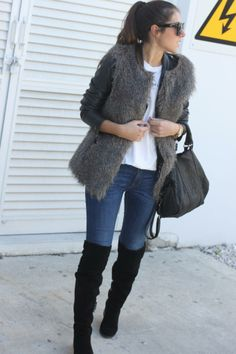 My Fashion Mirror: over the knee boots