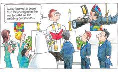 """Wedding Guidelines""  (Cartoon by the Rev. Jay Sidebotham)"
