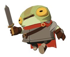 "Little frog knight based on Beyx's ""Frog"" . 3d Character Animation, 3d Animation, Game Character, Character Concept, Low Poly 3d Models, Monster Design, Weird Creatures, Art Challenge, Character Design Inspiration"