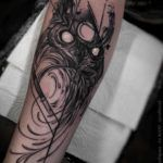 Black Owl Tattoo