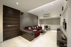 Evolve Designs a Modern Day Living Home in India