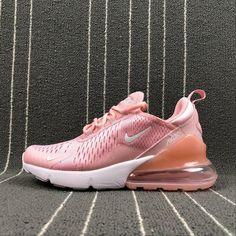 6cc86a0378fe Perfect Nike Air Max 270 Retro Pink   White Women Casual shoes Sneaker  AH8050-610