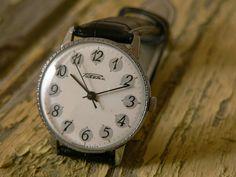 Russian Watch men's watch  RAKETA 19 j. soviet ussr watch SERVICED cccp on Etsy, $48.00