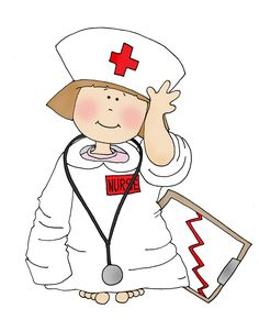 Nurse Computer Clip Art   Nursing clip art - vector clip art ...