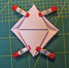 ...And Then We Set It On Fire: Shibori Folding - no 6