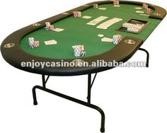 "84"" Professional Texas Holdem Poker Table W/ Cup Holders & Dealer Tray"