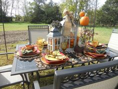 """""""Fall"""" in love with this tablescape!"""
