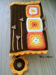 OwlWool Crochet Book Cover, Crochet Books, Crochet Hats, Book Markers, Xmas, Autumn, Blanket, Handmade, Free Crochet