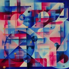 """Saatchi Art Artist Delta NA; Painting, """"The game of Earth"""" #art"""