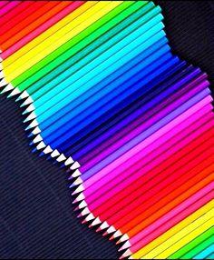 Colored pencils ~ Ʀεƥɪאאεð вƴ ╭•⊰✿ вƴ © Ʀσxʌאʌ Ƭʌאʌ ✿⊱•╮