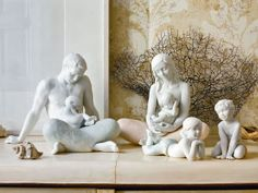 Lladro Family Figurines