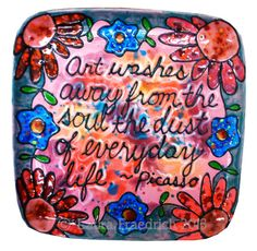 iLoveToCreate Blog: 52 weeks of Art Plates with Laura Fraedrich: Week 1-6