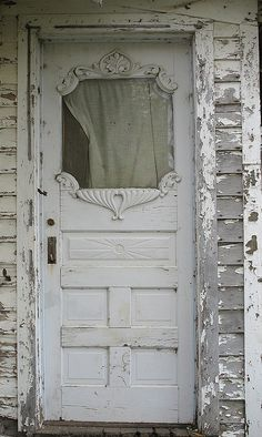 Shabby with white...