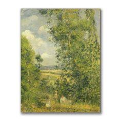 <li>Artist: Camille Pissarro </li> <li>Title: 'A Rest in the Meadow' canvas art</li> <li>Product type: Giclee, gallery wrapped</li>