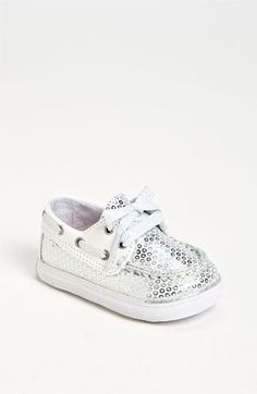 Glittering Sperry boat shoes