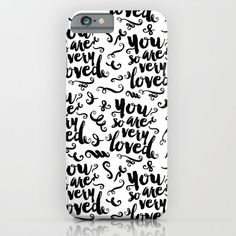 You Are So Very Loved iPhone & iPod Case