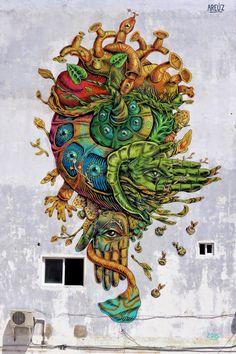 by Areúz in Cancún, Mexico, 3/15 (LP)