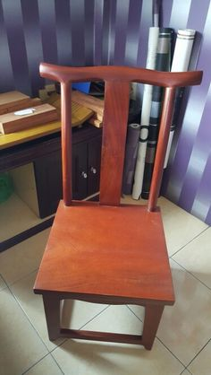 Solid mahoni chair own design