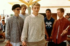 a young christian slater and tony hawk. of course i love this-Gleaming the Cube