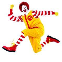 Los payasos en general y  Ronald McDonald en particular #aterrador