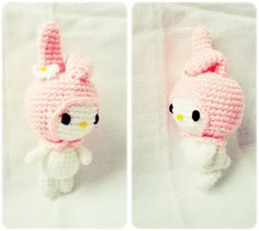 Amigurumi My Melody Sanrio - FREE Crochet Pattern / Tutorial