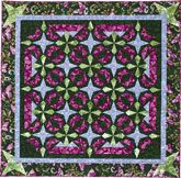 Turning Points Quilt Kit from Quiltmaker features easy foundation piecing for a great look. See many more versions of this quilt by the QM Scrap Squad in a slideshow: http://www.quiltmaker.com/slideshows/index.html?set_id=279