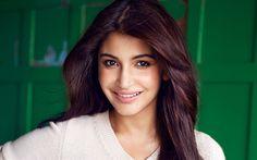 Download wallpapers Anushka Sharma, 4k, portrait, Indian actress, beautiful woman, Vogue