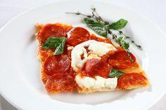 Pepperoni and Mozzarella Pizza