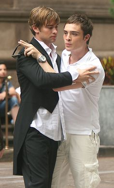 Chuck with Nate Gossip Girl Season 2, Nate Gossip Girl, Nate Archibald, La Girl, Chuck Bass, Movies Showing, Live, Best Friends, Tv Shows